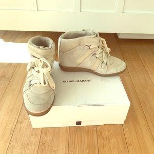 Isabel Marant Over Basket Bluebel Sneakers Size 9